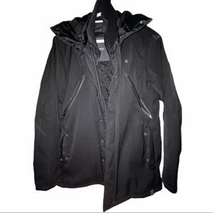G-Star Black Heavy Jacket Medium Size